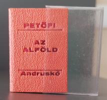 Minikönyv - Andruskó Károly eredeti fametszetei