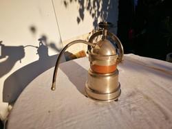 Régi kávéfőző Wien jelzéssel dekorációs célra