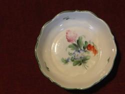 Herendi porcelán kis tálka. Gyönyörű virágmintás.