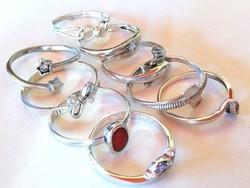 Női ezüst gyűrű csomag