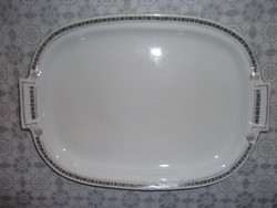 Antik porcelán sültes kínáló