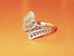 Legyező mint. Tibeti ezüst Régi gyűrű 8-as