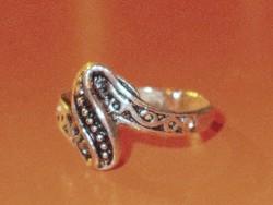Különleges mint. Tibeti ezüst Régi gyűrű 8-as