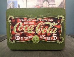 Fém doboz Coca cola 2