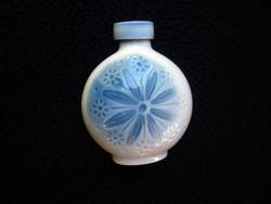 Aquincumi aquazur parfümös porcelán palack