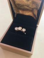 Eljegyzési , Mennyaszonyi , Esküvői Gyémánt & Brill Gyűrű Csere Is LEÁRAZVA !