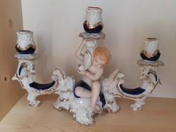 AKCIÓ!!!Puttós gyertyatartó Regal Crown fine porcelain