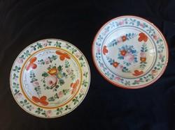 Hollóházi és telkibányai tányér, falitányér