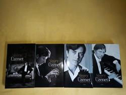 Vásáry Tamás  Üzenet című 4 kötetes könyve eladó