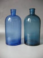 Színes antik hutaüvegek (életfa szimbólummal)