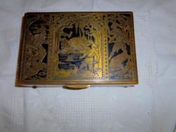 Niellos asztali réz ládika 1928 bejegyzéssel