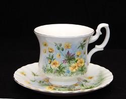 Royal Albert gyönyörű tavaszi virágos KÁVÉS szett