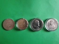 Eladó ezüst pénzek
