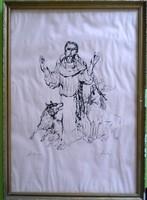 Szalay Lajos: Szent Ferenc