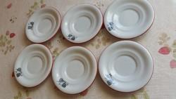 6 db Alba Iulia / Julia porcelán kis lapos tányér virág mintával  eladó