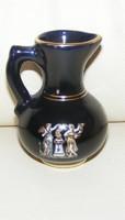 Görög aranyozott porcelán váza, dísztárgy