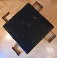 Menő 4 fiókos régi asztal