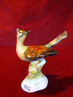 Bodrogkeresztúri porcelán madár, mérete 11,5 x 11 cm.