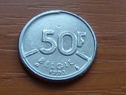 BELGIUM BELGIE 50 FRANK 1993 #