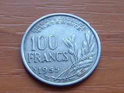 FRANCIA 100 FRANK FRANCS 1955 #