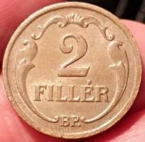 ★1935 Horthy 2 Fillér BP★