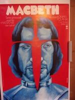 Macbeth Roman Polanski film plakát - 1971 -