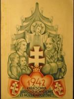 Tábori postai levelezőlap,1942.