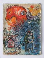 Chagall jelzéssel
