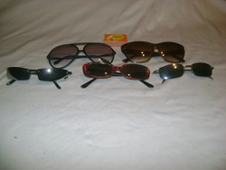 Retro napszemüveg - öt darab
