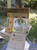 Retro philips hp3110 design kvarc lámpa gyönyörű állapotban dobozában papírjaival 72-ből