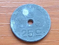 BELGIUM BELGIE - BELGIQUE 25 CENTIMES 1943 WW II CINK