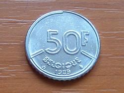 BELGIUM BELGIQUE 50 FRANK 1989