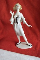 Unterweisbach retro porcelán figura