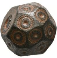 Bizánci, korai iszlám súlypénz 10 DIRHAM /UQIYA 29.00 g, 18 x 16 mm