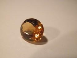 Citrin - 9,3 ct, természetes, aranysárga, zárványmentes