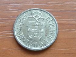 PORTUGÁLIA 5 ESCUDOS 1989 CSIPKE