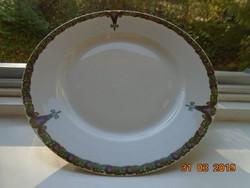 Szecessziós MZ AUSTRIA tányér,számozott 24 cm