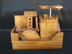 Fa játék játszótér