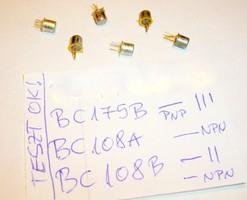 BC179B BC108A BC108B régi SIEMENS stb. tranzisztorok