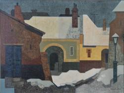 Zalaváry Miklós (1929-1981): Soproni utcakép