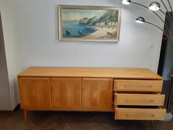 Extra minimal design sideboard, side table 230 cm