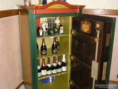 Renovated antique wertheim safe, luxurious Vienna safe