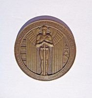 1923 Pénzügyi tisztviselők sport clubja, br. érem