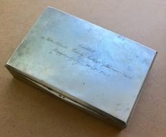 Ezüst doboz Dianás jelzéssel