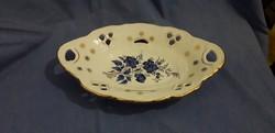 Áttört mintás Apulum porcelán tál