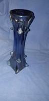 Érdekes színű üveg váza (33 cm.)