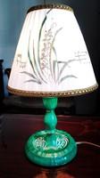 Esterházy mintás Herendi porcelán éjjeli lámpa