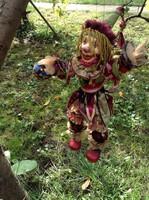 Nagyon szép bohóc marionett