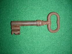 Antik kovácsoltvas kulcs