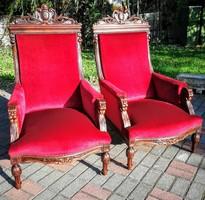 Reneszánsz fotelek